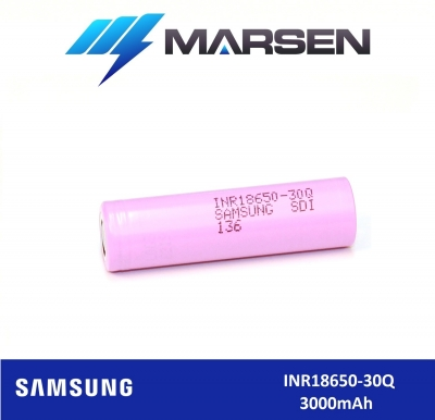 Samsung INR18650 30Q 3000mAh 3.6V Li ion battery