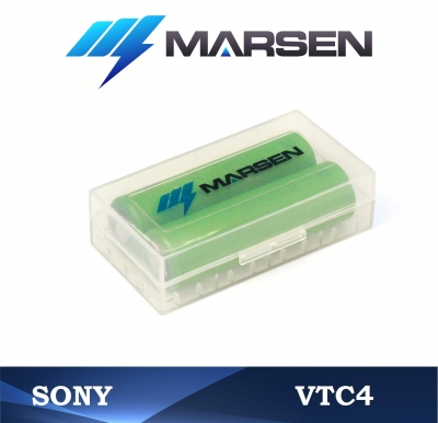 Sony US18650 VTC4 in case