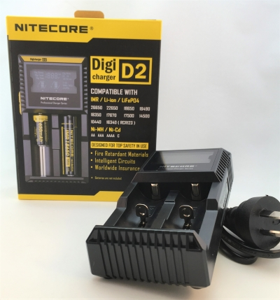 Nitecore D2 digicharger battery charger 2