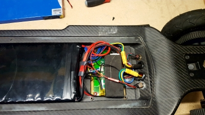 Marsen Energy Evolve Carbon GT 15Ah battery upgrade BMS mkII install