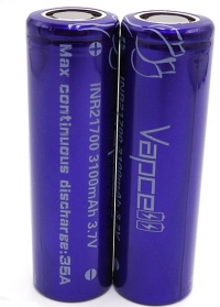 Vapcell INR21700 3100mAh purple