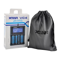 Xtar vc4 intellicharge battery charger for lithium